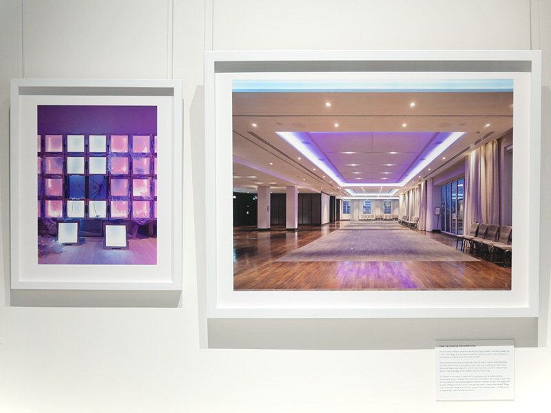 The Institute of Engineering and Technology (IET) photography exhibition frame details