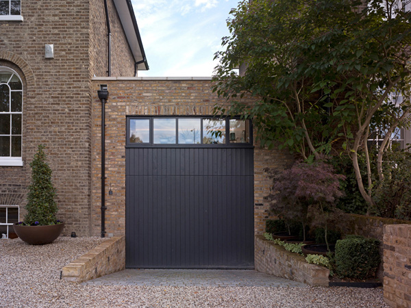 Shooters Hill, Blackheath garage elevation