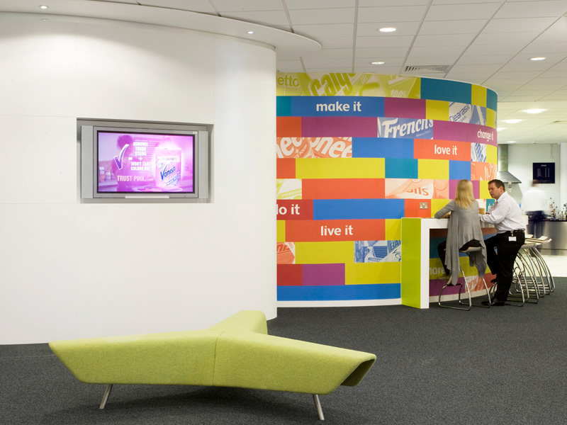 Carey Jones Reckitt Benckiser offices