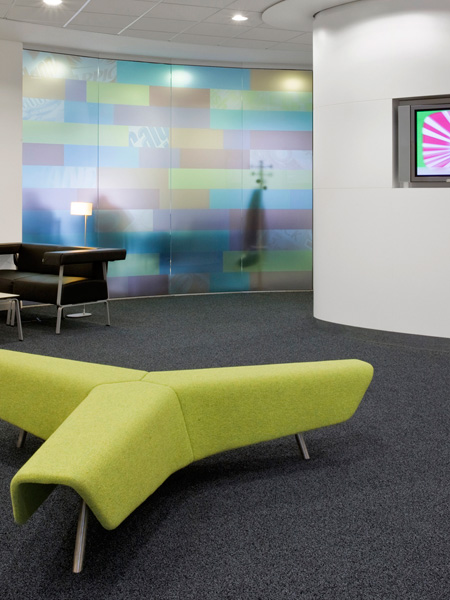 Carey Jones Reckitt Benckiser offices reception seating