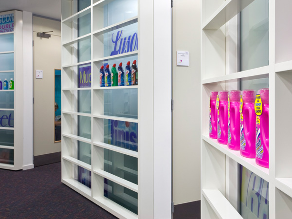 Carey Jones Reckitt Benckiser office product display