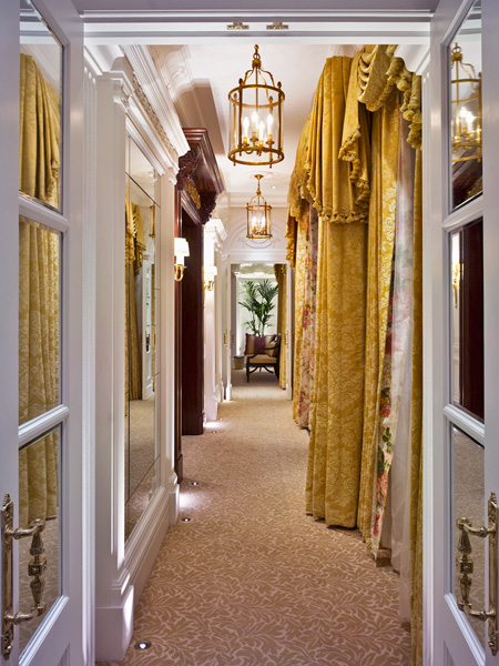 The Savoy, Royal Suite hallway
