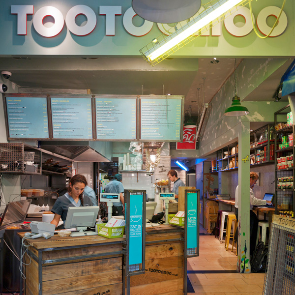 tootoomoo restaurant entrance / counter view