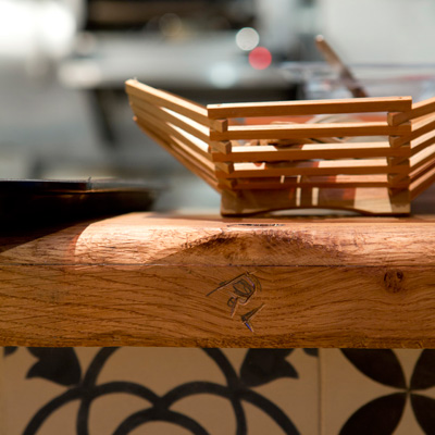 Tootoomoo restaurant and counter detail