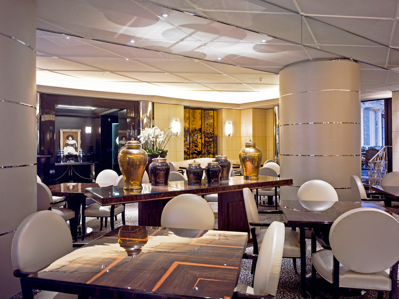 The Savoy, River Restaurant, Art Deco design - art and furniture