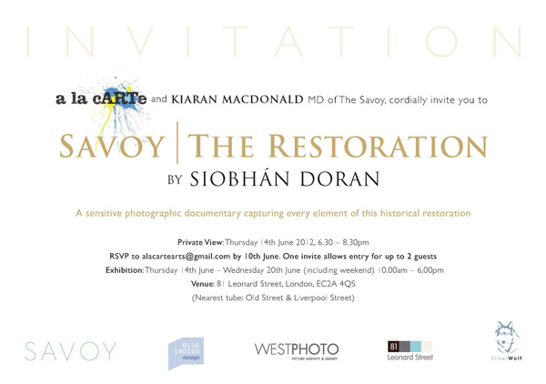 Exhibition Invite Artwork