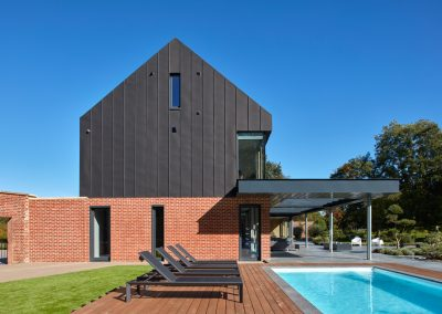 The Glass House - Pool Elevation